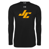 Under Armour Black Long Sleeve Tech Tee-Stylized JC