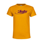 Youth Gold T Shirt-Primary Mark
