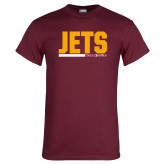 Maroon T Shirt-Arched