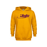 Youth Gold Fleece Hoodie-Primary Mark