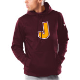 Under Armour Maroon Armour Fleece Hoodie-J
