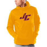 Under Armour Gold Armour Fleece Hoodie-Stylized JC