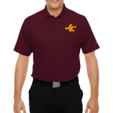 Under Armour Maroon Performance Polo-Stylized JC