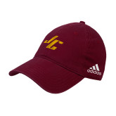 Adidas Maroon Slouch Unstructured Low Profile Hat-Stylized JC