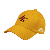 Adidas Gold Structured Adjustable Hat-Stylized JC