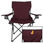 Deluxe Maroon Captains Chair-J