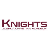 Large Decal-Kinghts Joshua Christian Academy, 12 inches wide