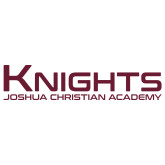 Extra Large Decal-Kinghts Joshua Christian Academy, 18 inches wide