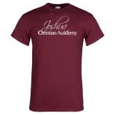 Maroon T Shirt-Joshua Christian Academy