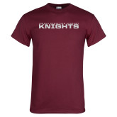 Maroon T Shirt-Stacked