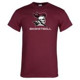 Maroon T Shirt-Basketball