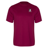 Performance Maroon Tee-Primary Mark