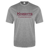 Performance Grey Heather Contender Tee-Physical Education