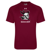 Under Armour Maroon Tech Tee-Soccer