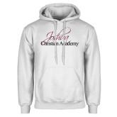 White Fleece Hoodie-Joshua Christian Academy