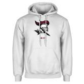 White Fleece Hoodie-4-H Club