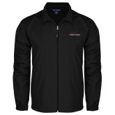 Full Zip Black Wind Jacket-Joshua Christian Academy