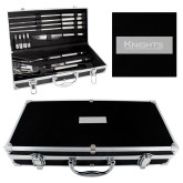 Grill Master Set-Kinghts Joshua Christian Academy Engraved