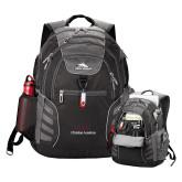 High Sierra Big Wig Black Compu Backpack-Joshua Christian Academy