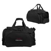 Challenger Team Black Sport Bag-Joshua Christian Academy