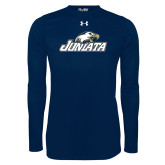 Under Armour Navy Long Sleeve Tech Tee-Juniata