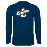 Performance Navy Longsleeve Shirt-JC