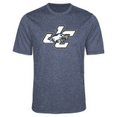 Performance Navy Heather Contender Tee-JC