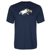 Performance Navy Tee-Eagle Head