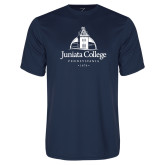 Performance Navy Tee-Juniata College