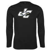 Performance Black Longsleeve Shirt-JC
