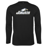 Performance Black Longsleeve Shirt-Juniata