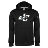 Under Armour Black Performance Sweats Team Hoodie-JC