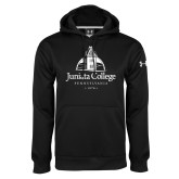 Under Armour Black Performance Sweats Team Hoodie-Juniata College