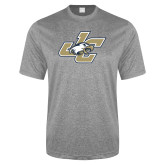 Performance Grey Heather Contender Tee-JC