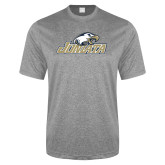 Performance Grey Heather Contender Tee-Juniata