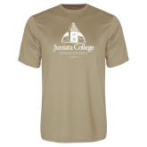 Performance Vegas Gold Tee-Juniata College
