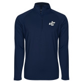 Sport Wick Stretch Navy 1/2 Zip Pullover-JC