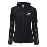 Columbia Ladies Sweet As Black Hooded Jacket-JC