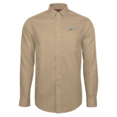 Red House Tan Long Sleeve Shirt-Primary Mark