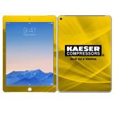 iPad Air 2 Skin-Kaeser w tagline