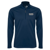 Syntrel Navy Interlock 1/4 Zip-Kaeser w tagline