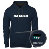 Contemporary Sofspun Navy Heather Hoodie-Kaeser