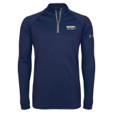 Under Armour Navy Tech 1/4 Zip Performance Shirt-Kaeser w tagline