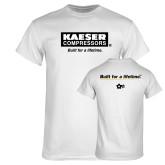 White T Shirt-Kaeser