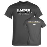 Charcoal T Shirt-Kaeser