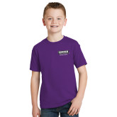 Youth Purple T Shirt-Kaeser Compressors