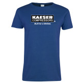 Ladies Royal T Shirt-Kaeser w tagline