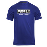 Russell Core Performance Royal Tee-Kaeser w tagline