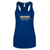 Next Level Ladies Royal Ideal Racerback Tank-Kaeser w tagline