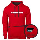 Contemporary Sofspun Red Hoodie-Kaeser